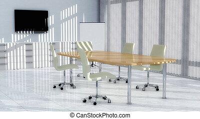 ミーティング部屋, 現代