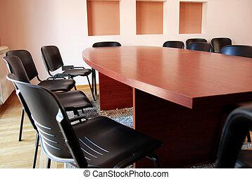 ミーティング, オフィス机
