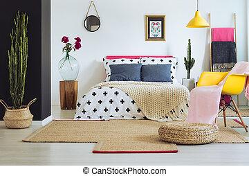 メキシコ人, 寝室, 促すこと, 装飾
