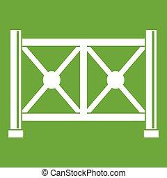 メタルフェンス, アイコン, 緑