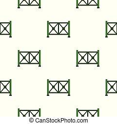メタルフェンス, パターン, seamless