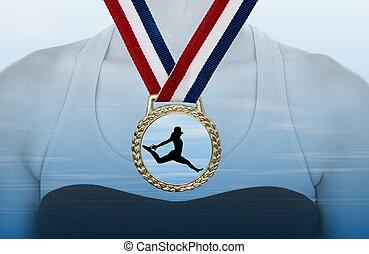 メダル, 金
