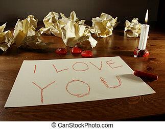 メッセージ, バレンタイン