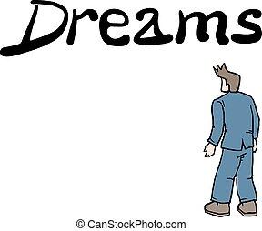 メッセージ, 夢