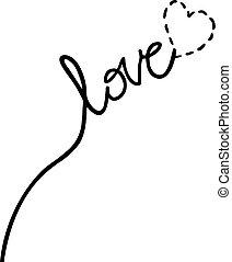 メッセージ, 愛