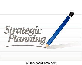 メッセージ, 計画, イラスト, 戦略上である