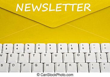 メッセージ, newsletter