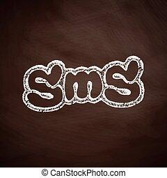 メッセージ, sms, アイコン