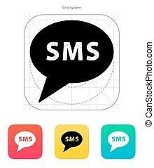 メッセージ, sms, icon.