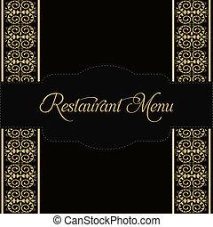 メニュー, レストラン, デザイン