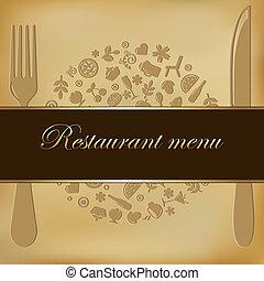 メニュー, レストラン