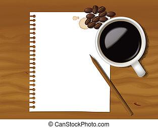 メモ, コーヒー