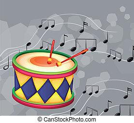 メモ, ドラム, ミュージカル