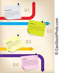 メモ, ビジネス, infographics