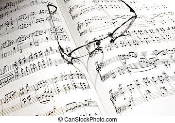 メモ, 心, 影, 音楽