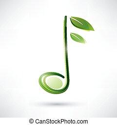 メモ, 緑, ミュージカル