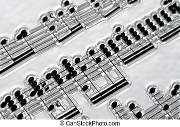 メモ, 音楽, 銀