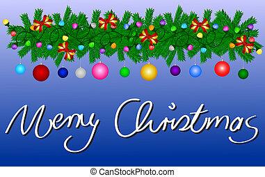 メリークリスマス, カード