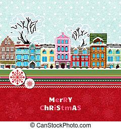 メリークリスマス, カード, 招待