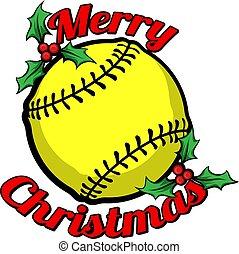 メリークリスマス, ソフトボール
