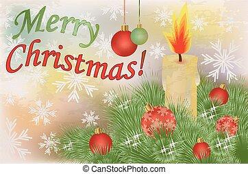 メリークリスマス, 背景, 幸せ