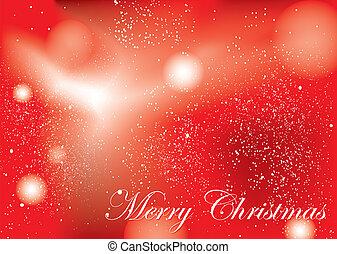 メリークリスマス, 背景, 赤