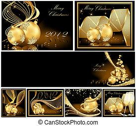 メリークリスマス, 金, 背景