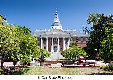 メリーランド州州議事堂, 建物
