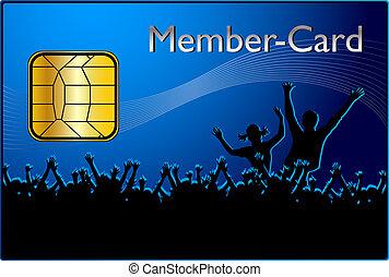 メンバー, カード
