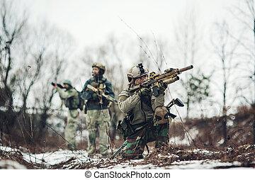 メンバー, レーンジャー, 分隊, 狙撃兵