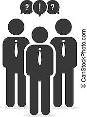 メンバー, businessperson, ユーザー, ∥あるいは∥