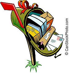 メールボックス, ∥で∥, 手紙, そして, ポスト 箱