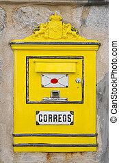 メールボックス, スペイン語