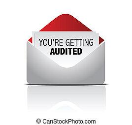 メール, あなた, 会計監査された, 得ること