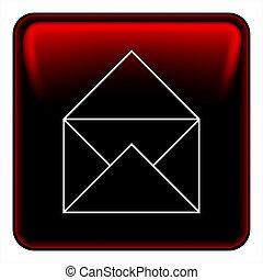 メール, ボタン