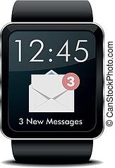 メール, smartwatch