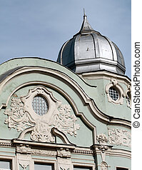 モスクワ, 中に, 建物