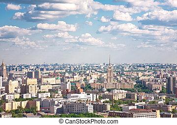 モスクワ, 都市, 3