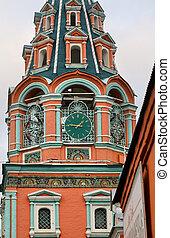モスクワ, 鐘楼, 時計, 分解しなさい