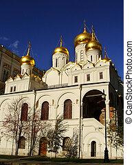 モスクワ, kremlin, お告げの祝日, 複合センター, 大聖堂, ロシア
