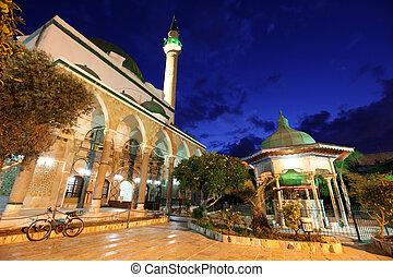 モスク, (, エーカー, 西部, ), al-jazzar, また, イスラエル, galilee, akko