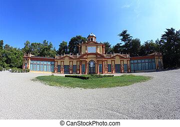 モデナ, estense, 庭