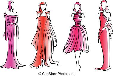 モデル, ファッション