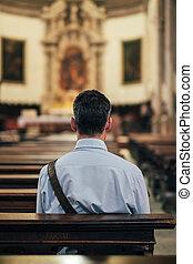 モデル, 人, 教会