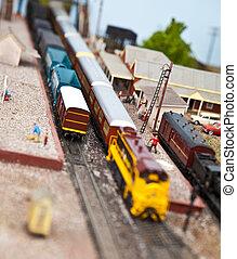 モデル, 列車