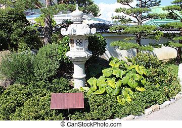 モナコ, 日本の庭