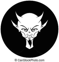 モノクロである, 円, 悪魔, バージョン