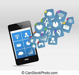 モビール, 媒体, 現代, 社会, 電話