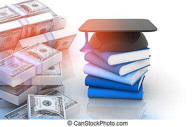 モルタル, ドル, 帽子, 卒業, 本, 私達, 山, 板