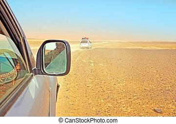 モロッコ, によって, サハラ砂漠, 運転